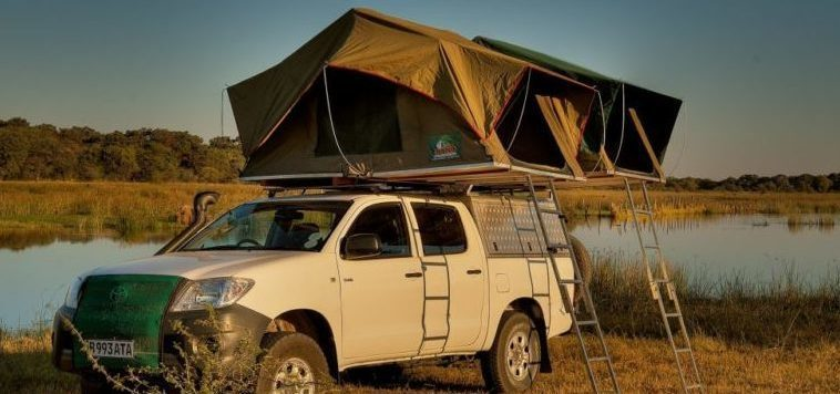 SELF DRIVE ROOF TENT 15 GIORNI